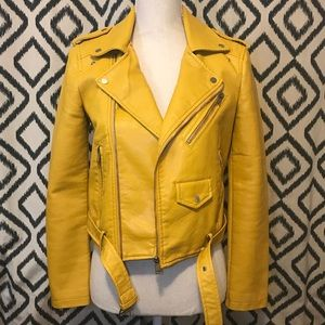 Jackets & Blazers - NWOT Faux Leather Moto Jacket